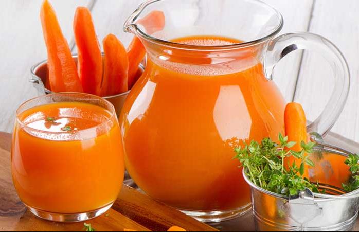 Nước ép carot giúp giảm nám da